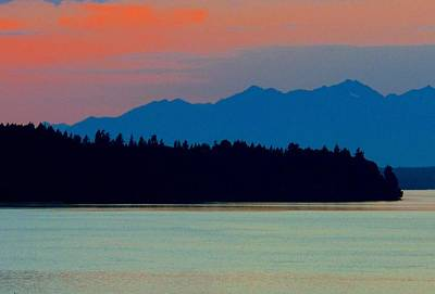 Photograph - Evening Layers by My Lens and Eye - Judy Mullan -