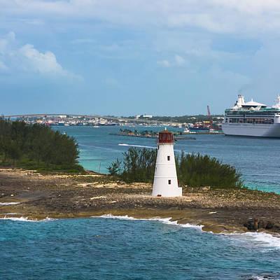 Target Threshold Nature - Evening Leaving Nassau Harbor by Ed Gleichman