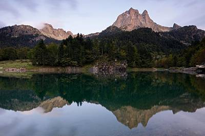 Photograph - Evening Light At Lac De Bious-artigues by Stephen Taylor