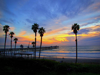 San Clemente Beach Photograph - Evening Light  by Carl Jackson