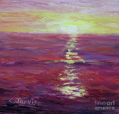 Painting - Evening Light by Carolyn Jarvis