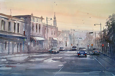 Evening Light In Appleton Original by Ryan Radke