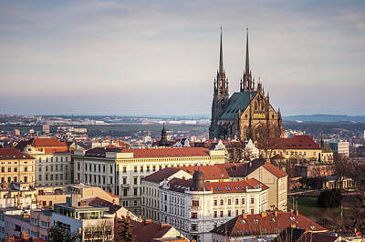 Photograph - Evening Light In Brno by Jenny Rainbow