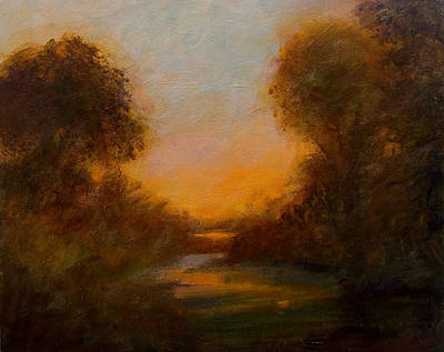 Painting - Evening Light by Jan Blencowe