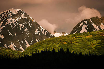 Photograph - Evening Light Kenai Peninsula by Benjamin Dahl