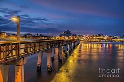 Photograph - Evening Lights  by Scott Wood