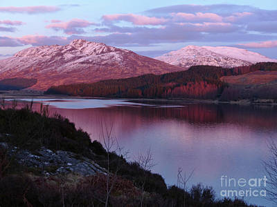 Photograph - Evening - Loch Laggan by Phil Banks