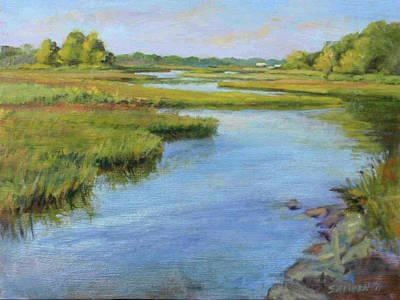 Painting - Evening On Cape Cod by Peter Salwen