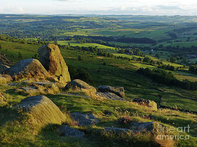 Photograph - Evening On Curbar Edge  by Phil Banks