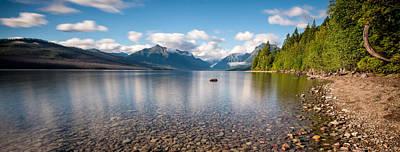 Apgar Photograph - Evening On Lake Mcdonald 2 by Matt Hammerstein