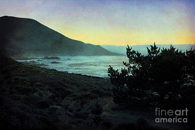 Photograph - Evening On The California Coast by Ellen Cotton