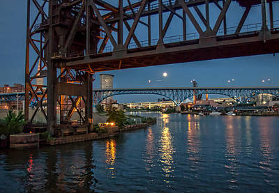 Photograph - Evening On The Cuyahoga River by Brent Durken