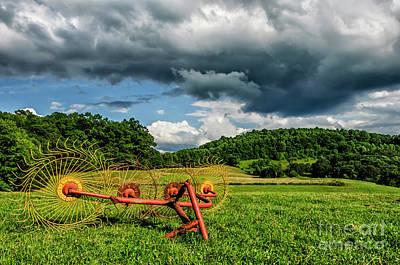 Photograph - Evening On The Farm by Thomas R Fletcher