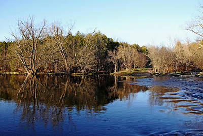 Photograph - Evening On The Speed River by Debbie Oppermann