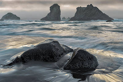 Photograph - Evening Oregon Mood by Allen Biedrzycki