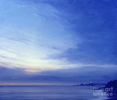 Of Ocean Painting - Evening Over Kovallum by Derek Hare