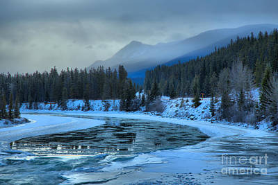 Photograph - Evening Over The Athabasca River by Adam Jewell