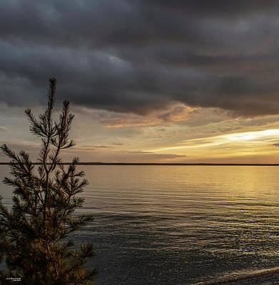 Photograph - Evening Over The Straits by Sally Sperry