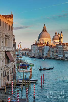 Photograph - Evening Over Venice by Brian Jannsen