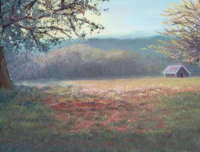 Evening Pasture Art Print