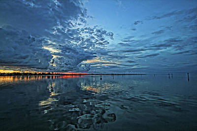 Photograph - Evening Peace by HH Photography of Florida