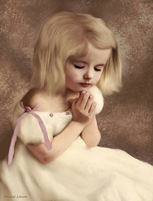 Digital Art - Evening Prayer by Sannel Larson