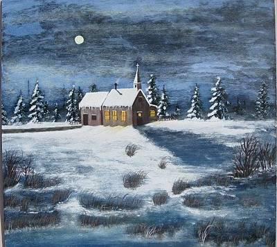 Painting - Evening Prayers by Lorraine Bradford