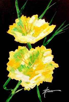 Painting - Evening Primrose by Adele Bower