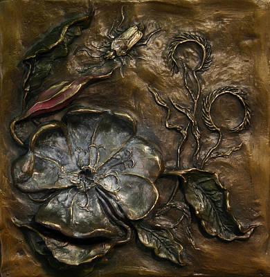 Evening Primrose Art Print by Dawn Senior-Trask