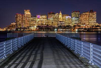 Photograph - Evening Promenade by Michael Blanchette
