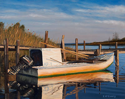 Painting - Evening Rest by Rick McKinney
