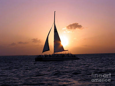 Photograph - Evening Sail by Ania M Milo