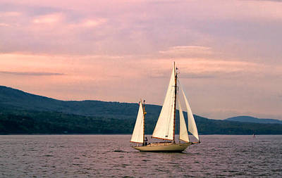 Photograph - Evening Sail by Carolyn Derstine