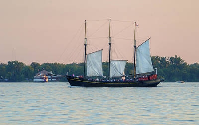 Photograph - Evening Sail by Keith Armstrong