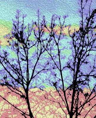 Digital Art - Evening Shadows by Ann Johndro-Collins