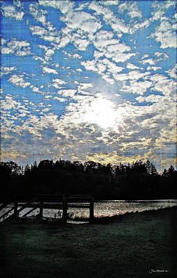 Digital Art - Evening Shadows by Joan  Minchak