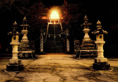 Photograph - Evening Shrine by Mountain Dreams
