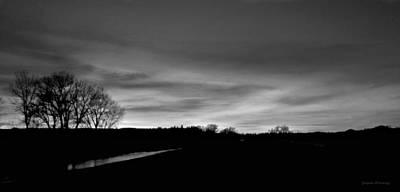 Evening Sky 6 Art Print by Susan Kinney