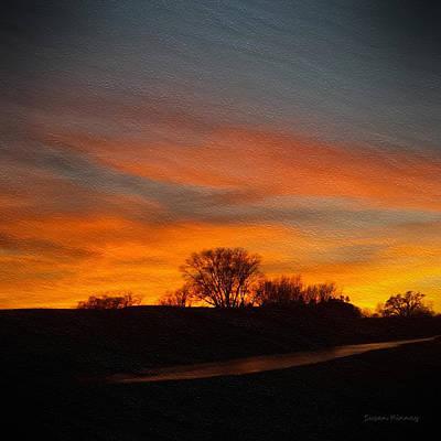 Evening Sky 7 Art Print by Susan Kinney