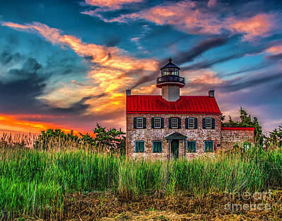 Photograph - Evening Sky At East Point by Nick Zelinsky