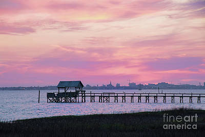 Photograph - Evening Sky Over Charleston by Sharon McConnell
