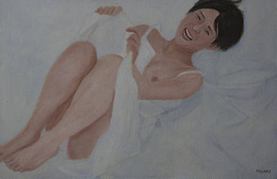 Painting - Evening Smile by Masami Iida