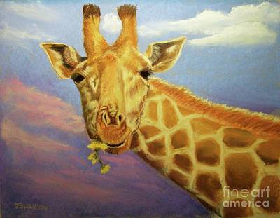 Evening Snack Art Print by Joan Swanson