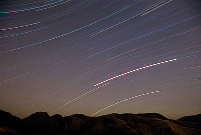 Photograph - Evening Splendor-star Trails by Sandra Bronstein