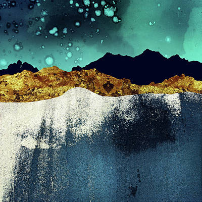 Abstract Landscape Royalty Free Images - Evening Stars Royalty-Free Image by Katherine Smit