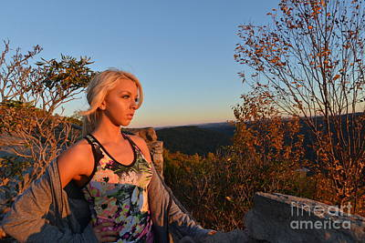 Photograph - Evening Sun At Coopers Rock by Dan Friend
