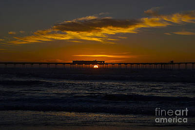Photograph - Evening Sunset by Bob Brents