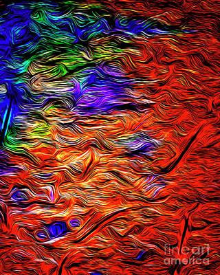 Digital Art - Evening Tide by Edmund Nagele