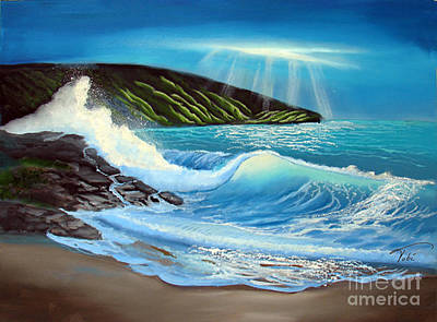Evening Tide Art Print by Tobi Czumak