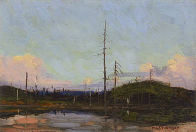 Painting - Evening by Tom Thomson